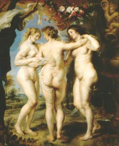 Three Graces by Ruben