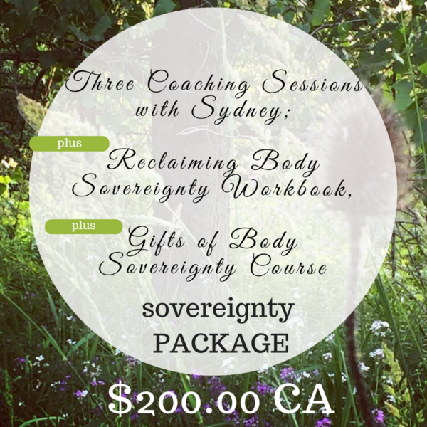 Sovereignty Coaching Package
