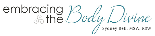 Sydney Bell, Counsellor & Body Image Coach